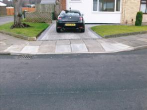 Sittingbourne Drop Kerbs
